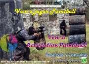 Veni a jugar paintball veni a revolution paintball