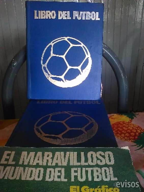 Libros de enciclopedias argos discontinuas e enciclopedias del fútbol