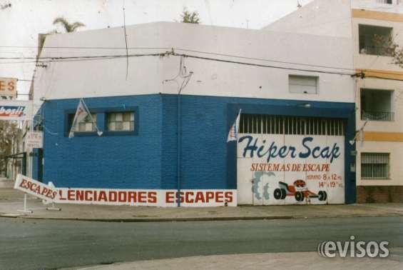 Tradicional esquina dedicada a la venta u colocacion de caños de escapes originales,deportivos,importados y trabajos hechos a medida