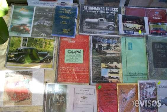 Manuales de autos antiguos & clasicos