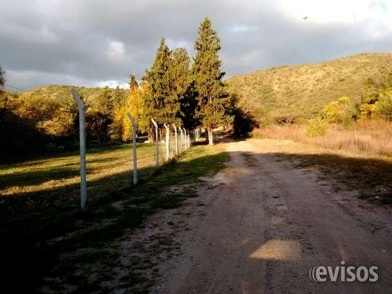 2 hermosos terrenos en venta en san antonio, a 1 cuadra de la ruta - luz, agua y escritura