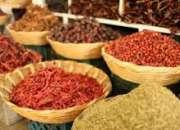 Especias, condimentos, deshidratados, legumbres y semillas