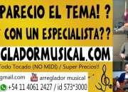 ARREGLADOR MUSICAL - ESTUDIO DE GRABACION ZONA OESTE