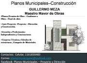 Planos municipales- de obras  Proyecto- Direccion -construccion