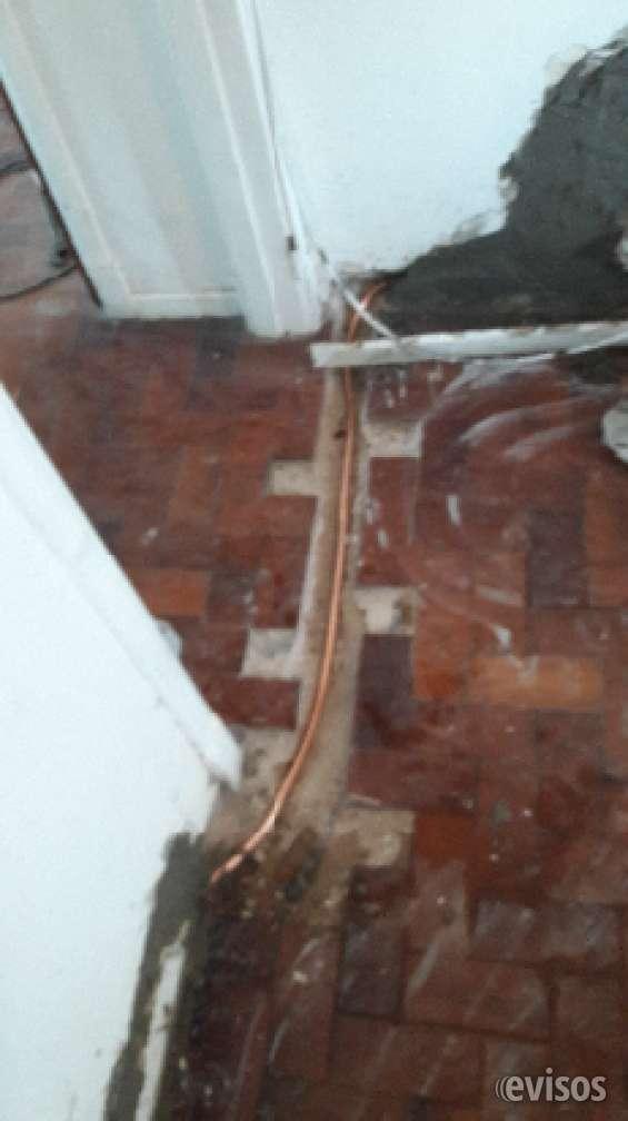 Plomero gas reparaciones intalacionesrefacciones