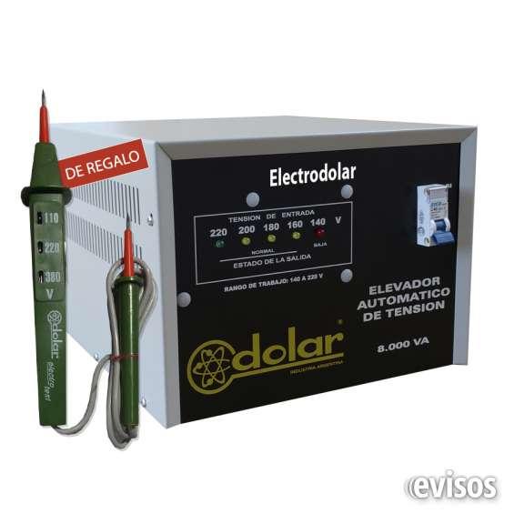 Elevador de voltaje - automático 16 kva 011-48492747