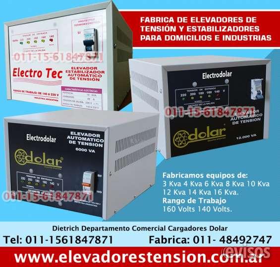 Elevadores de tensión en jose c paz 011-48492747