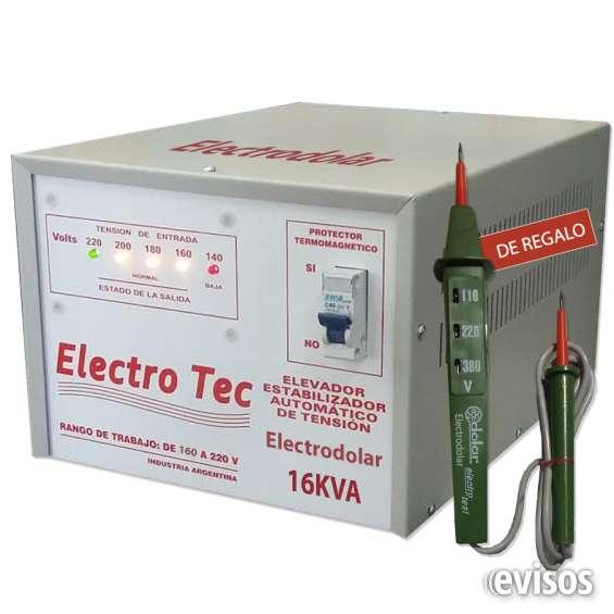 Elevador de tensión 14000 Watts, 16000 Watts