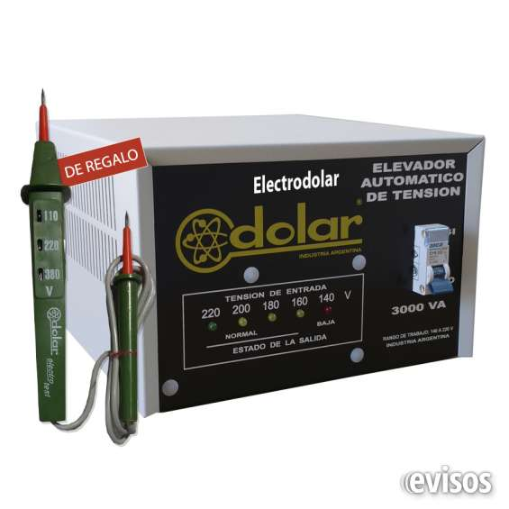 Estabilizadores automáticos tensión 3 kva dolar
