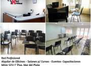 Alquiler de Oficinas - Salones para Cursos- Gabinete Mar del Plata
