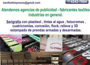 Servicio serigrafia , tampografia , sublimacion y…