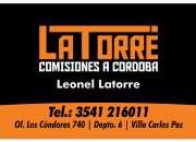 Comisiones a Cba. Latorre