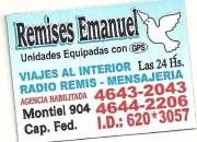AGENCIA DE REMISES EMANUEL INCORPORA AUTOS Y CHOFERES EXCEL RECAUDACION