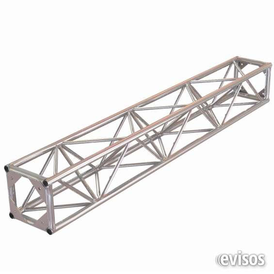 Truss aluminio / estructura metálica cuadrada 40x40 en 3 metros