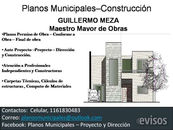 Planos municipales en pilar-jc paz- malvinas argentinas