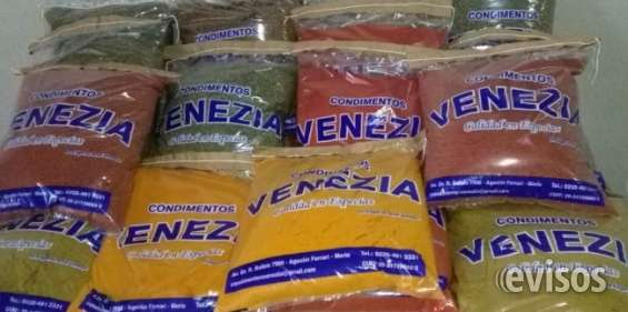 Condimentos venezia venta por mayor condimentos y especias