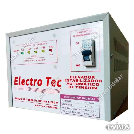 Elevador de tension 10000 watts 011- 48492747