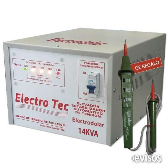 Elevadores de tension 16000 watts 011-48492747