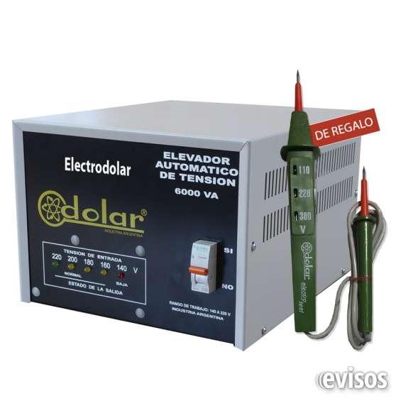 Elevador de tension 8000 watts 011-48492747