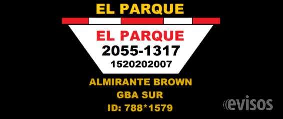 Volquetes el parque 2055-1317 1520202007 alquiler de volquetes en todo almirante brown