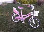 Bicicleta niña rodado 14.  marca musseta