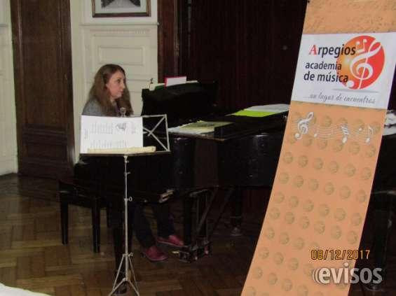 Clases de piano alumnos carreras profesorado de musica