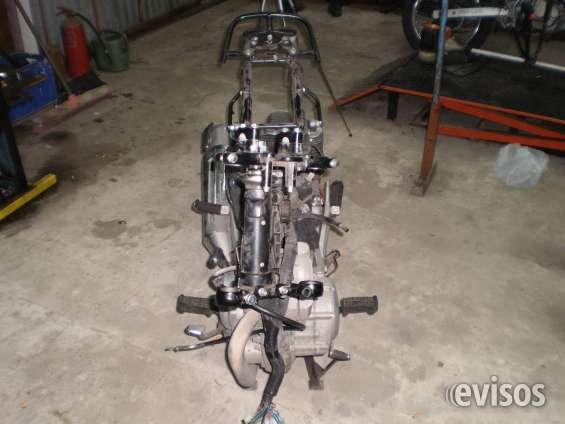 Reparacion de motos chocadas