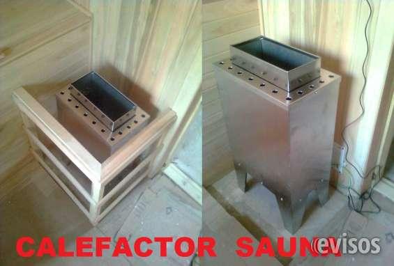 Calefactor  gabinete acero inoxidable, resistencias blindadas, 1 año de granatia