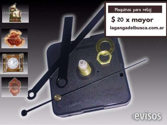 Maquinas para reloj ideal para artesanias completa con agujas marca la ganga del busca