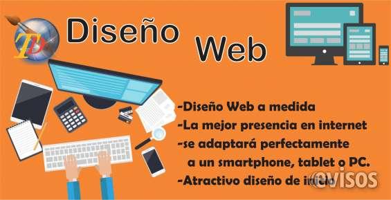 Diseño de paginas webs, hosting y publicidad online