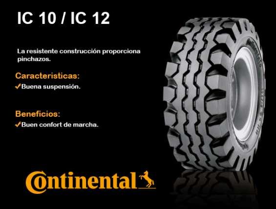 Neumatico 600x9 set camara y protector continental ic10