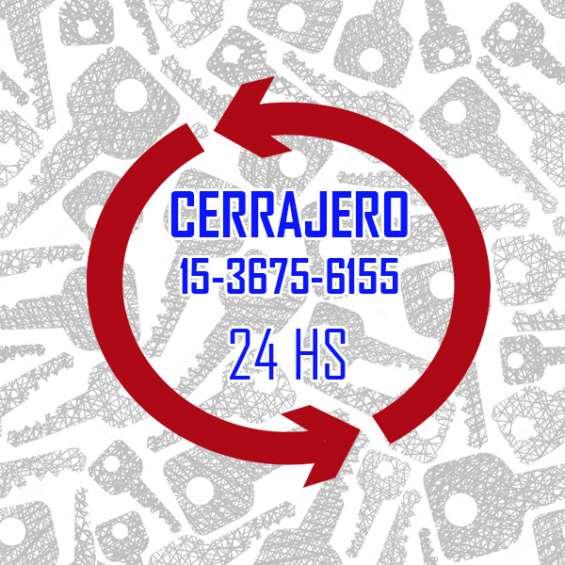 Cerrajería en palomar 15-36756155 las 24 hs