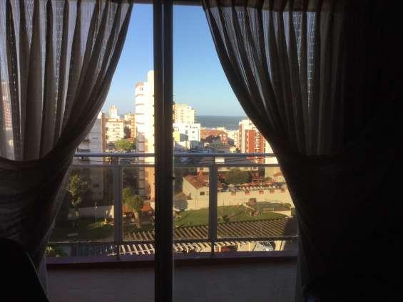 Villa gesell - zona centro *** vendo depto 2 amb. con balcón , vista al mar ***
