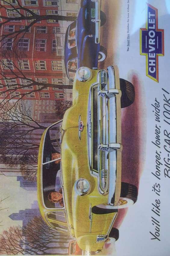 Manual despiece linea completa chevrolet 1951 * edito gm
