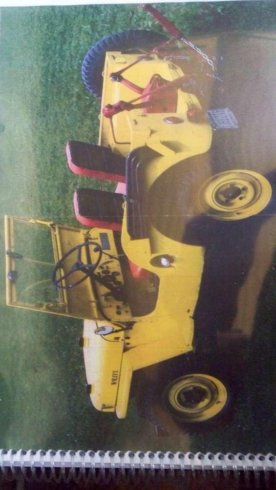 Manual de taller jeep willys  cj 2 a * 1947 en español