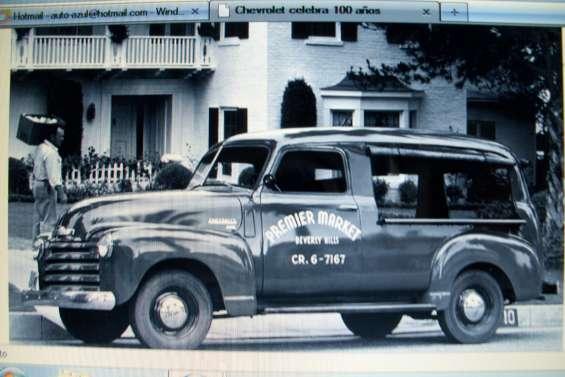 Porton de caja chevrolet 1947 / 1953