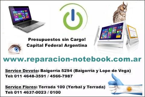 Servicio técnico notebook