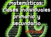 MATEMATICAS CLASES SECUNDARIO  VILLA PUEYRREDON DEVOTO