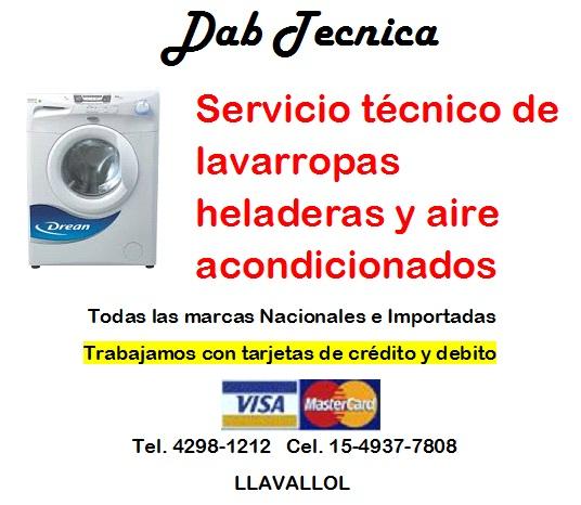 Servicio técnico de lavarropas en jose marmol 42981212