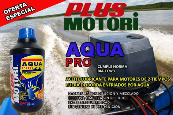 Plus motori - aqua pro