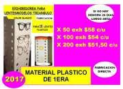 Fabricacion de exhibidores de plastico para  lent…