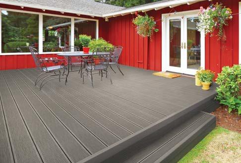 Vinyl deck® es un producto fabricado con 100% de pvc rígido extruido