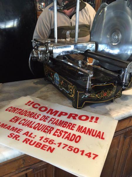 Compro restauro cortadoras berkel