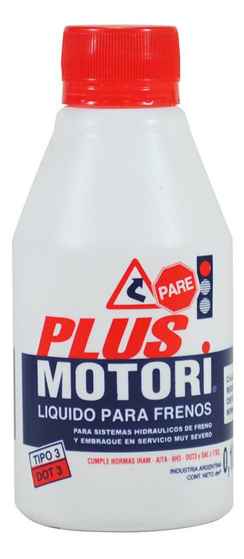Plus motori - liquido de frenos dot 3 aita 6h3