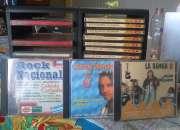 Vendo porta CD y CD barios de Rock nacional inolvidables y Dos hojas iguales de CELOCIAS