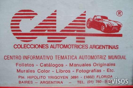 ** automobilia c.a.a. * venta de manuales tecnicos de autos & pick ups * amplia variedad