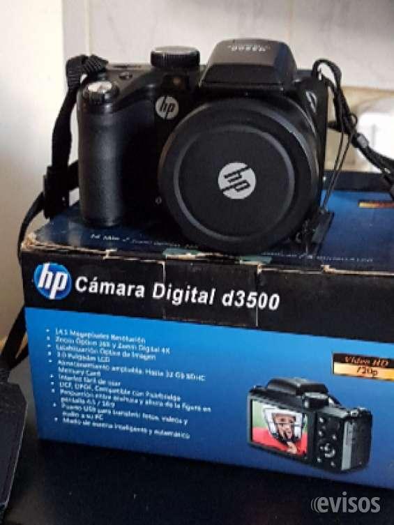 Vendo cámara semi reflex hp