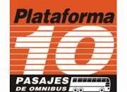 Plataforma 10 venta de pasajes