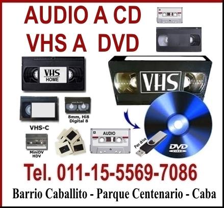 Digitalizacion de vhs a dvd