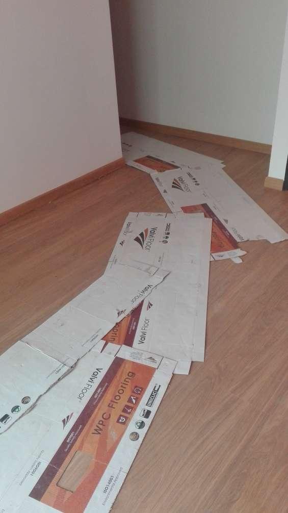 Durlock piso fotante